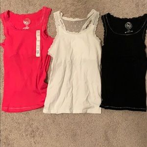 Other - Three Kohl's/So Tank Tops